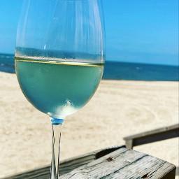 wine beach blue pcmyfavoritedrink