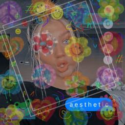 aesthic rainbow aesthicrainbow freetoedit