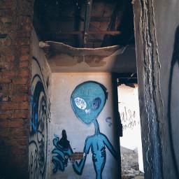 abandoned decay grafitti wall urbex urbexexploration. urbexexploration
