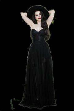 freetoedit woman black gothic