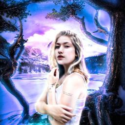 freetoedit girl imagination blending manipulation