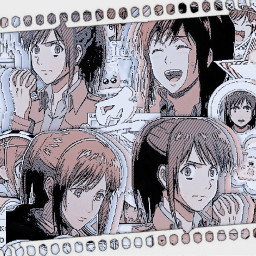 animecomplex sasha aot anime freetoedit