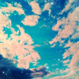 cool cloud sky star