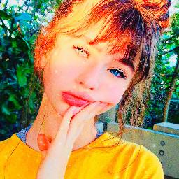 freetoedit replay malinaweissman girl yellow saturation sparkles brightcolors malinafanpost