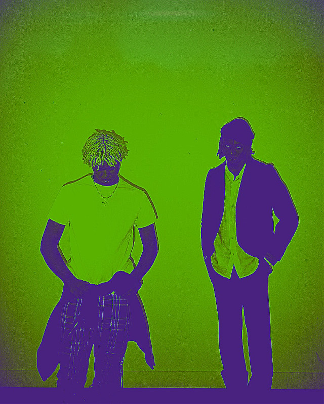 #kencarson #playboicarti #vampire #green #blackandwhite #2guys #2 #people #rap #hiphop #rapper #opium #greenaesthetic