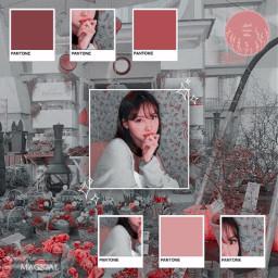 freetoedit notfreetoedit nayeon imnayeon twice jihyo sana chaeyoung dahyun momo mina jeongyeon tzuyu kpop pink red grey aesthetic pinkaesthetic redaesthetic