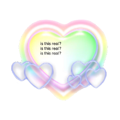 cyber cybery2k cybercore aesthetic aestheticedit hearts heary rainbow soft softcore gradient weridcore y2kcore cybersoft y2kaesthetic dreamcore freetoedit