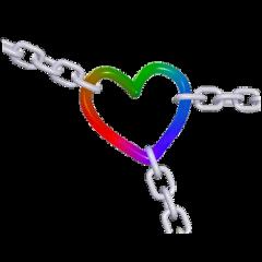 chains chain heart rainbow cute aesthetic y2kcore y2kaesthetic y2kedit kidcore kidcoresticker 2000s 2000score weirdcore cybercore cybery2k freetoedit