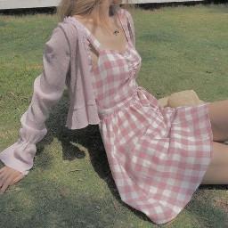 sweet sweetmills cottagecore lightcottagecore aesthetic pinkcottagecore pink pinkaesthetic pastel pinkdress dress pretty girl prettygirl