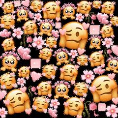 pink babypink sticker background cute emojis emojibackground cutebackground flowers volume pinkflowers pinkroses pinkhearts hearts freetoedit