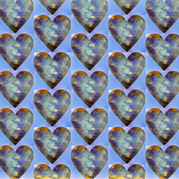 freetoedit sfghandmade hearts pattern bluebackground heartpattern blues picsarteffects
