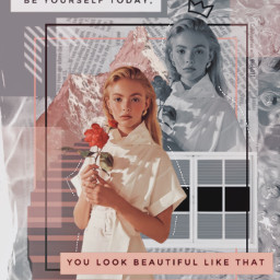 collab collaboration collage pink grey vintage aestetic inspiration quote poetry mountain rose modernart art freetoedit