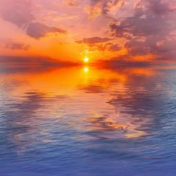 ocean sunset fun clouds bored