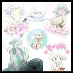kamisamahajimemashita kamisamakiss anime animeboy snake snekboi animeedit edit freetoedit