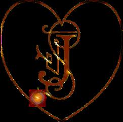 sfghandmade sticker stickers j letterj heart heartsticker redsticker coppersticker picsarteffects tattoo freetoedit