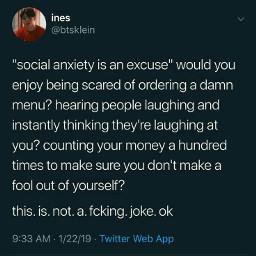 meme memes funny funnymemes funnymeme anxiety anxietymemes anxietymeme socialanxiety