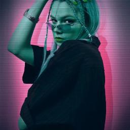 PicsArtReplay neon neonglitch glitch glitcheffect freetoedit