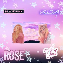 ahrikda kdaahri kda ahri blackpinkrose roseblackpink rose blackpink pinkaesthetic astheticpink pink asthetic soft softgirl softgirls pinkie stars kpop queens kpopforever freetoedit