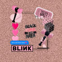 blackpink blink jennie lisa rosé jisoo freetoedit