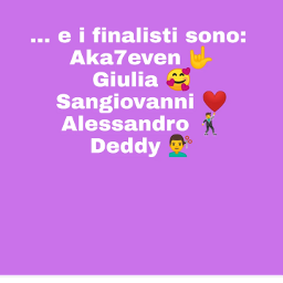 amici20 finalistidiamici