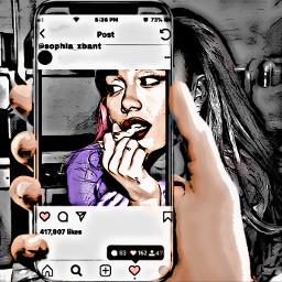 interesting arianagrande phone photography art cool freetoedit