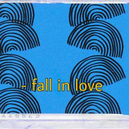 freetoedit blue rainbows doodles fallinlove quote ninahayess rcdoodlerainbows doodlerainbows