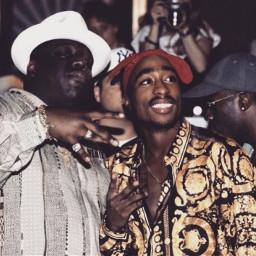 freetoedit biggie biggiesmalls notoriousbig thenotoriousbig tupac tupacshakur 2pac biggieandtupac rap eastcoast usa oldschool 90s