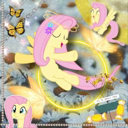fluttershy fluttershyedit mlp mylittlepony mlpfim mlpfluttershy mlpedit srcneonbutterflycircle neonbutterflycircle