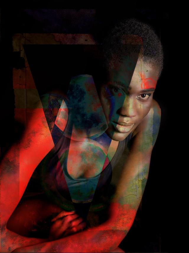 #edited #picsart #portrait #art