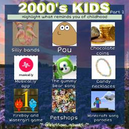 freetoedit remixit new game blossomgames template bored blossom aboutme quiz nostalgia 2000 childhood kids nostalgic memories bingo