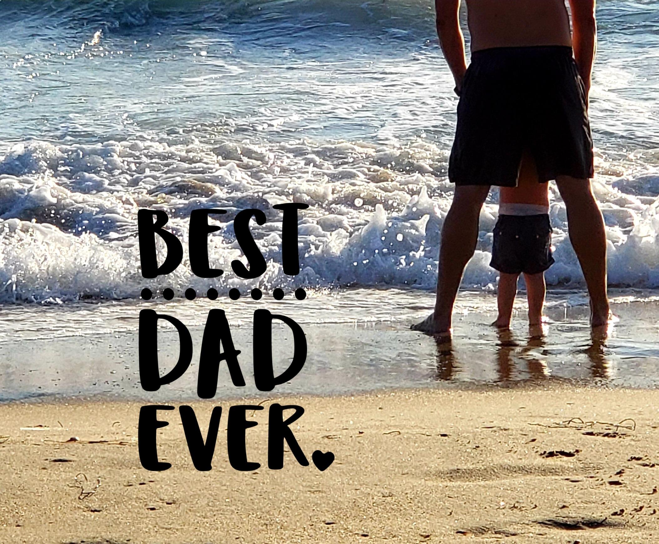#fathersday #fatherandson #beachday #bestdadever #picsart #father #ocean #myoriginalphoto #freetoedit