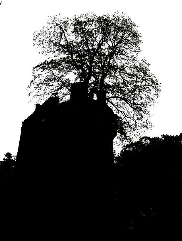 #castle #silhouette