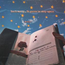 aesthetic diary stars freetoedit unsplash ecdreamstickersbackground dreamstickersbackground