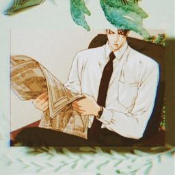 anime aesthetic freetoedit green