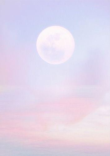 ☁️Pastel background 8/9☁️ Main acc: @angelina_arts  #pastel #background #pastelbackground #moon #sky #clouds #pink #purple #orange #white