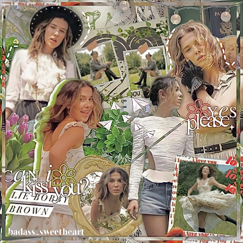 ˗` ˏ❦︎  Oᴘᴇɴ  ❦︎ ˎˊ ˗  •·— ≈≈ —·•   ➢Nᴏᴛᴇ ʙʏ @badass_sweetheart  Omg i haven't edited in a while now Here's an edit of Millie its been centuries since I edited Millie for the last time next will may be finn bc i miss editing him so much  •·— ≈🥀≈ —·•   ➢Iɴғᴏ ᴛʏᴘᴇ:: complex Wʜᴏ:: millie bobby brown Iɴsᴘᴏ:: my last edit of zendaya Cʀᴇᴅɪᴛ:: @chatty_celebrities @unrqvel- @amelqa @ciana-helps ғᴀɴ ᴀᴄᴄ:: @badass_sweetheart_fp @badass_sweet_fanacc- ᴏᴛʜᴇʀ ᴀᴄᴄ:: @badass_fandom @stickers_sweetheart  •·— ≈🌹≈ —·•   ➢Aᴍᴀᴢɪɴɢ ᴘᴇᴏᴘʟᴇ @crowleysazi (bad tastes in series😂💕) @finnfreakingwolfhard (i think we are soulmates ✨❤️) @chatty_celebrities (the cutest, the kindest, the best✨) @st_the_best (ilysm  💕❤️) @awh_umbrella (your edits 😍) @disnxy77 (you are so nice✨💕) @mailinglol (ily ily ily❤️) @luneavenue (angel💖)    ➢Tᴀɢʟɪsᴛ @shawnsmuffin_98 @cams_potterr @beemymoon @awh-jqnas @emmaweasleyy @crowleysazi @porcelainbabyangels @disnxy77 @ruelfqn @awh_umbrella @stranqerpottah- @mainpov @slim_hiddleston @luv_naomiiii @blackrainbow_edit @kpo @-fan-page- @st_the_best @-deadgirlinthepool- @winona011 @frcgs @-dazzlxr @wolfhadr @svnbeam @sparkssfly Comment  to be added, 🥀 to be removed and your new username if you changed it  •·— ≈≈ —·•   ➢Hᴀsʜᴛᴀɢs #milliebobbybrown #green #millie #idk #brownies #cottagecore #cottagecoreaesthetic