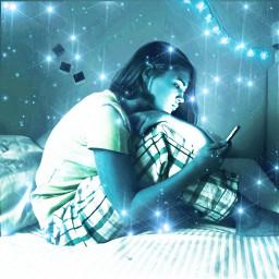 magic photography art night freetoedit