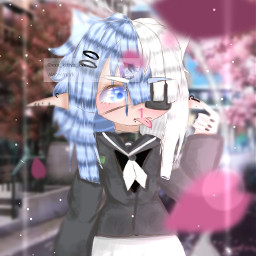 freetoedit gacha kittyz kittyzedit gachalife gachaclub gachalifeedit gachaclubedit aesthetic anime animeart animebackground animegirl flower japan miiku bestie stars