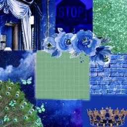 interesting art simple freetoedit remixit picsart simpleesthetique esthetiquewallpapers aestheticwallpaper bluewallpaper greenwallpaper royalblue peacockgreen