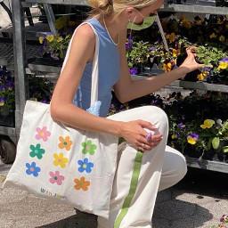 aesthetic asthetic aesthetics asthetics bag flowers flower plants spring nature