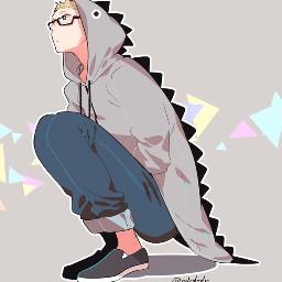 tsukki anime haikyuu
