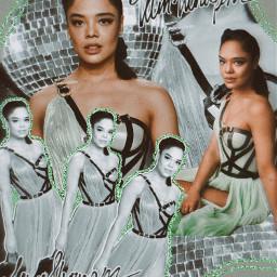art inspiration collage tessathompson valkyrie pride pride2021 aesthetic green greenaesthetic pastelgreen freetoedit