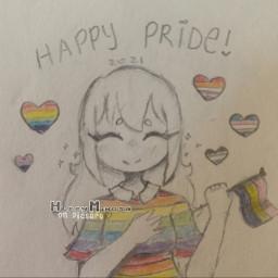 pride pride2021 pride2021art pridemonth lgbt art myart notfreetoedit ifyouarelgbtqpleaserememberyouarelovedandvalid drinksomewatertoday
