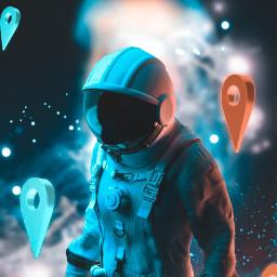 freetoedit astronaut location space sky surreal visual visual_creatorz visualsoflife visualart visualartist surrealism surrealisticworld surreality