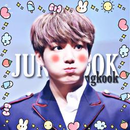 jungkook kawaii candy freetoedit