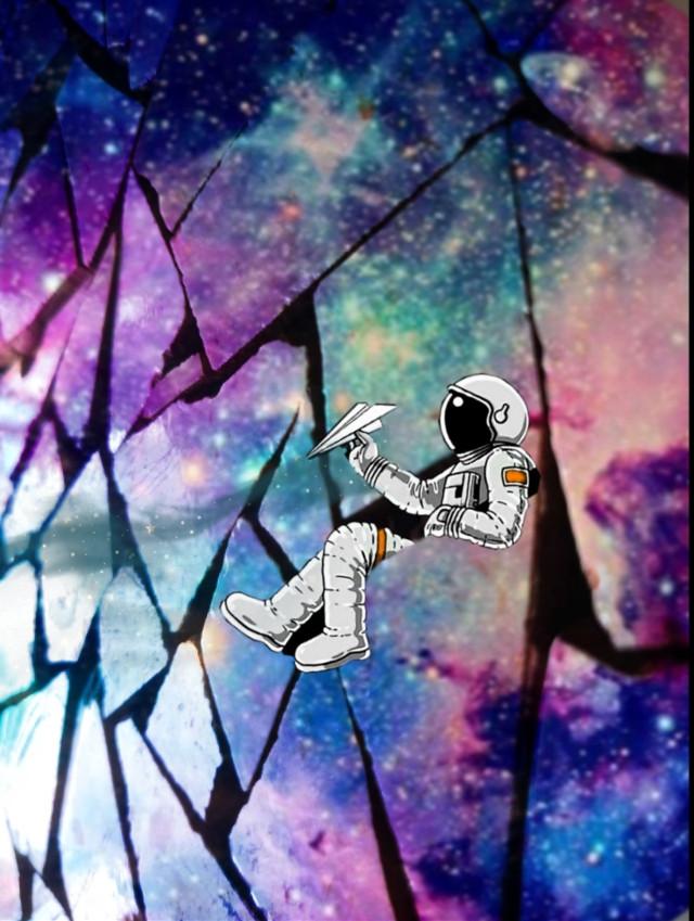 #universe #stars #astronaut