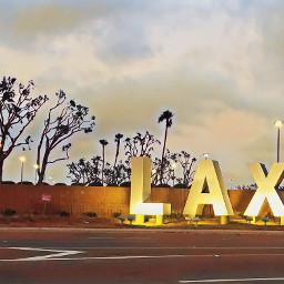 lax airport flyaway holiday socal