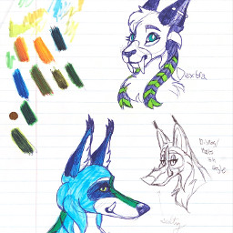 snowy the wolf hybrid furry fursona sunnywitha chance dextra saber lynx delirious myart