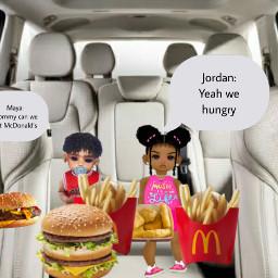 hungry kids freetoedit