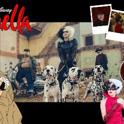 cruelladevil cruella pelicula cine disney cruellaedit cruella2021 cruelladeville cruelladisney freetoedit